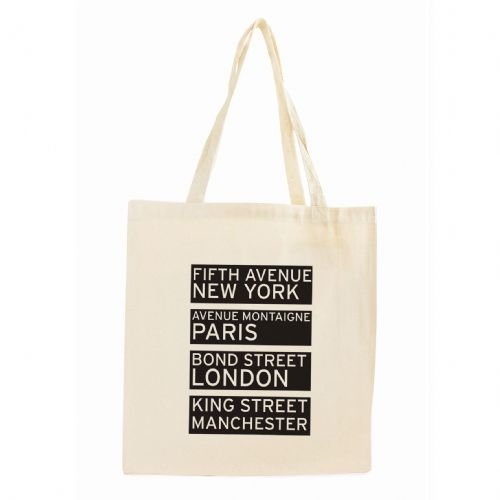 Personalised Shopping Destinations Cotton Tote Bag